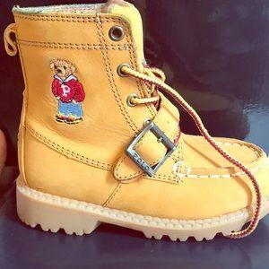 Polo Ralph Lauren boots. Size 8c Toddler